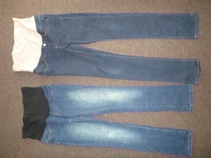Pregnancy jeans size XS and 10