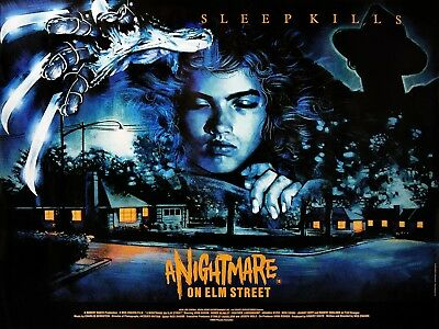 A Nightmare On Elm Street movie poster - 12 x 16 inches - Wes Craven