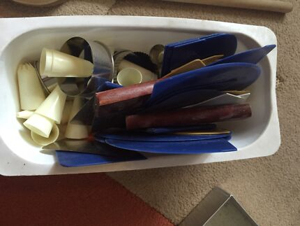 Bakery tools rack covers lamington trays etc