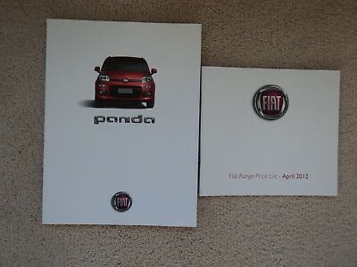 Fiat Panda  (incl. Pop - Easy - Lounge) - Brochure Pack - 2012 - Mint