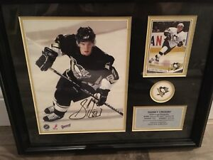 Autographed Sidney Crosby
