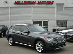 2014 BMW X1 xDRIVE28i AWD / LEATHER / PANO ROOF / LOW KM'S
