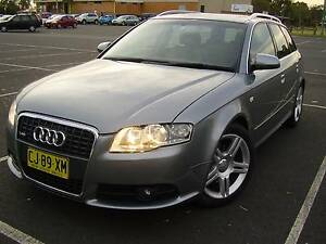 2008 Audi A4 B7 S-Line Avant Taree Greater Taree Area Preview