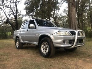 2006 Ssangyong Musso Sports 4x4 Ute