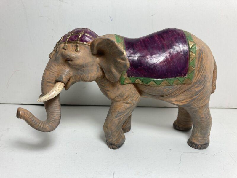 DEP Italy #270 Fontanini Heirloom Nativity Village Elephant Figurine 1992