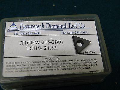 Futuretech Tchw 21.52 Pcd Diamond Tipped Insert