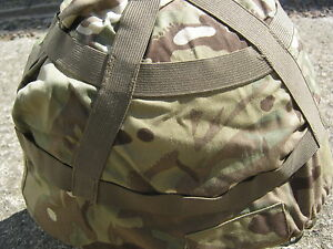 Army Surplus British Mk6/7 Helmet Cover In MTP Camouflage Size Small
