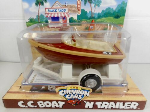 """VINTAGE NOS CHEVRON CARS """"C.C.BOAT AND TRAILER"""" 1999"""