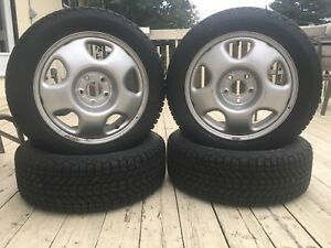 P215/55R17 Firestone WinterForce Tires and & Rims