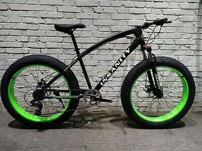 Fatbike Insanity Fat bike 7 Speed  26 x 4'' Wheels Bicycle with Shimano Gears