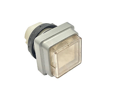 Push Button For Heidelberg Press Clear White Square Qty1 Offset Parts New