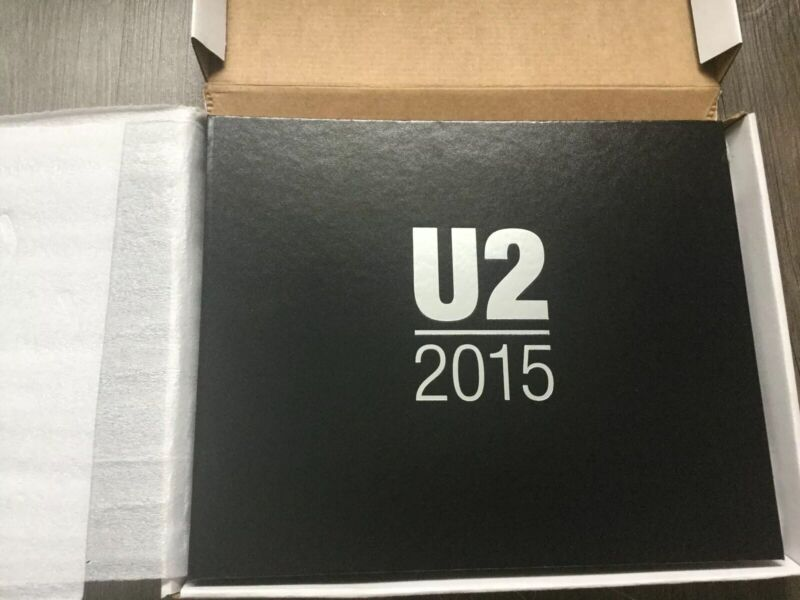 Live Nation U2 2015 Innocence Experience Concert Tour Limited Edition Book NEW!