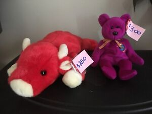 Beanie Babies WITH TAGS