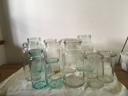 Fowler's Vacola Preserving Jars - Huge Lot Almost 100 jars!