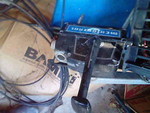 Outboard mercury control box with cables & loom East Ipswich Ipswich City Preview
