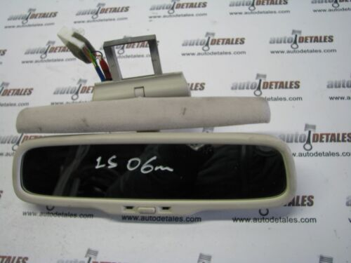 Lexus LS430 AUTO DIMMING REAR VIEW MIRROR E13010497 used 2006