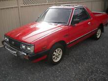 1985 Subaru Brumby Other Oakbank Adelaide Hills Preview