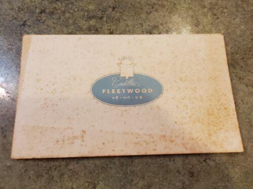 RARE 1937 Original Portfolio Sales Brochure CADILLAC FLEETWOOD 13 Color Plates