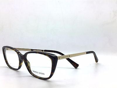 Giorgio Armani  WOMENS TORTOISE SQUARE Eyeglasses AR 7012 5026 54 17 140 ITALY