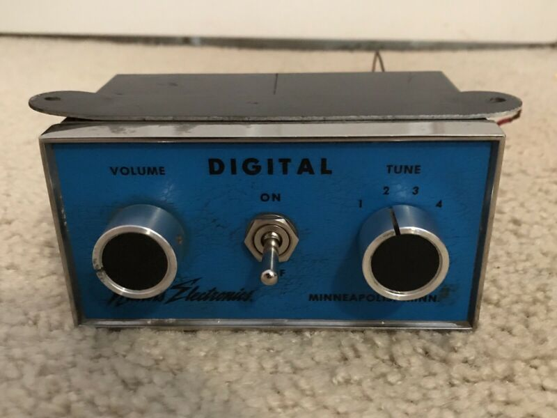 NICHOLS ELECTRONICS DIGITAL ICE CREAM TRUCK MUSIC BOX - GREAT CONDITION - RARE