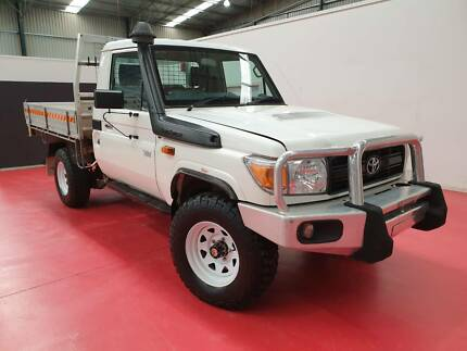 2013 Toyota LandCruiser Workmate UTE LOW KMS Breakwater Geelong City Preview
