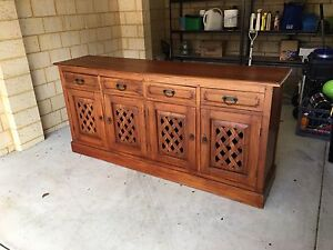 Beautiful Balinese cabinet Balcatta Stirling Area Preview