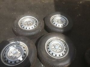 Wheels and tyres ute, 6 stud 90 % tread Moorebank Liverpool Area Preview