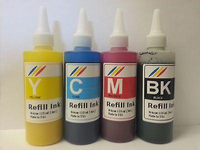 480ml Bulk Pigment Refill Ink For Hp Officejet Pro Printe...