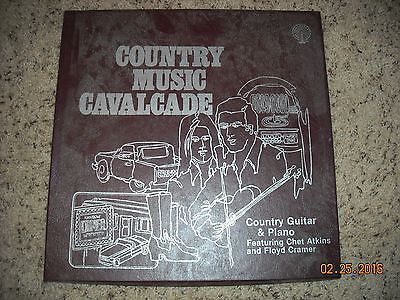 COUNTRY MUSIC CAVALCADE : COUNTRY GUITAR & PIANO( 2 LP SET)NOTE: NO FIRST RECORD