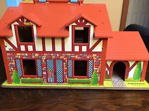 Vintage Fisher Price Little People House in Original Box Strathcona County Edmonton Area image 7