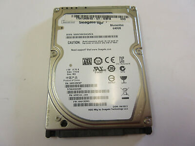 "Seagate Momentus 640GB Internal 5400RPM 2.5"" SATA Laptop Hard Drive ST9640423AS for sale  Shipping to Nigeria"