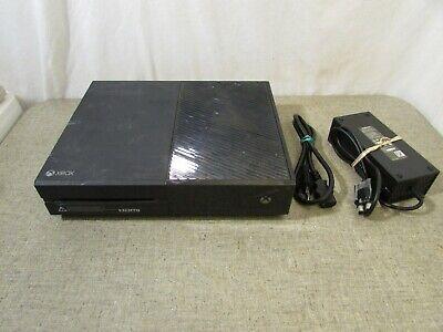 Microsoft 1540 Xbox One 500 GB Console-Black  w/ power supply