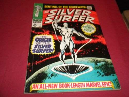 EA1 Silver Surfer #1 marvel 1968 silver age 4.5/5.0 comic! 1ST SOLO SURFER!!!