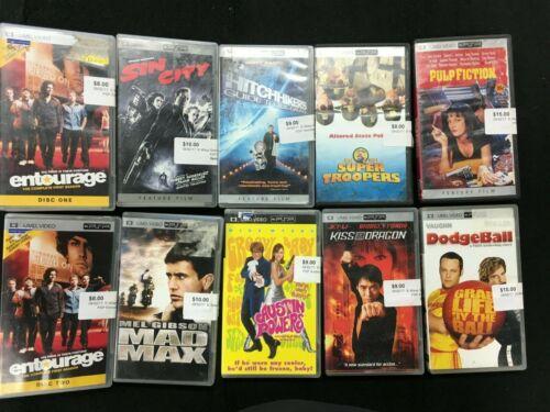 PSP UMD VIDEO Movie Bundle