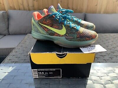 NIKE Zoom Kobe Prelude VI 6 UK9.5 / US10.5 640220 001 Grinch