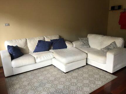 3 Seater L Shape Sofa And 2 Seater Sofa