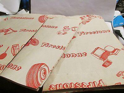 Firestone Sacks Bags  Advertising New Old Stock Nos