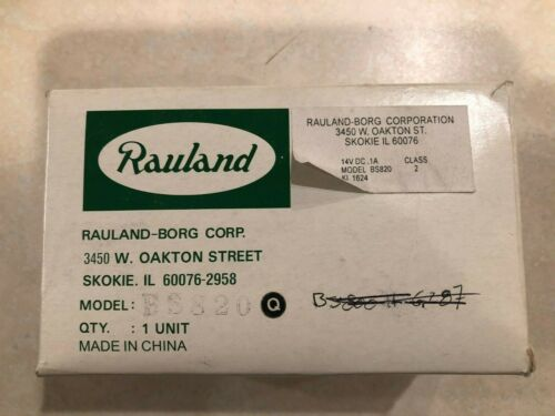 Rauland BS820 Patient Station - New Old Stock