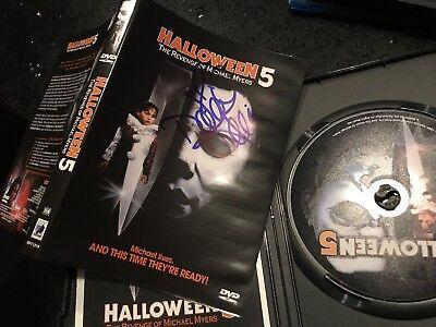 Danielle Harris Halloween 5 The Revenge of Michael Myers DVD Autographed - Halloween The Revenge Of Michael Myers