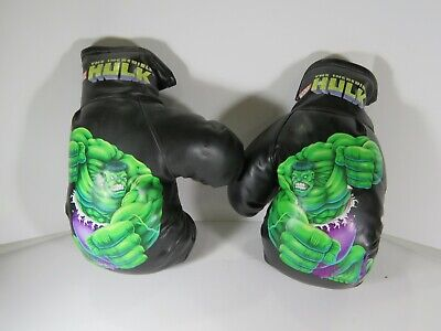 The Hulk Gloves (The Incredible Hulk Children's Boxing Gloves Soft Plastic Toy)