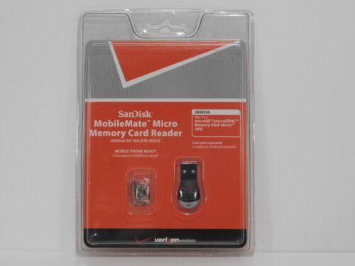 SanDisk MobileMate Micro Memory Card Reader SSDR-121S-V11M. New/Sealed