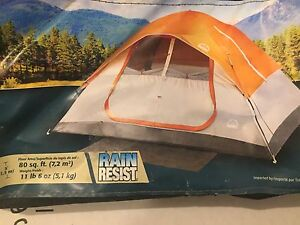 Absolutely comfortable tent for 3. Now for 40 dollars only.