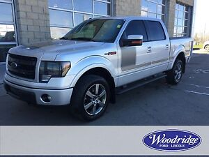 2013 Ford F-150 FX4 5L V8, NAV, TOW, LEATHER