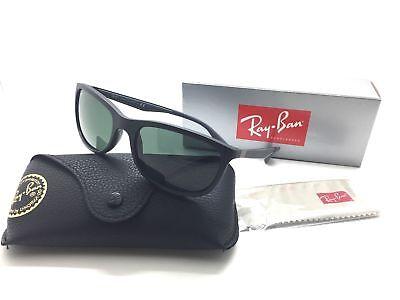 Ray Ban Matt Schwarz Plastik Italienische Sonnenbrille 4267 601 S 71 59M