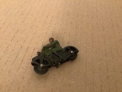 Vintage Diecast Model Dinky Toys 1940s 37a Civilian Motorbike