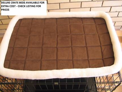 NEW Large Collapsible Metal Pet /Dog Puppy Cage Crate- METAL TRAY