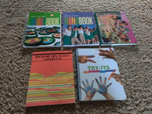 Junior Girl Scout Badge Book 2001 & Handbook