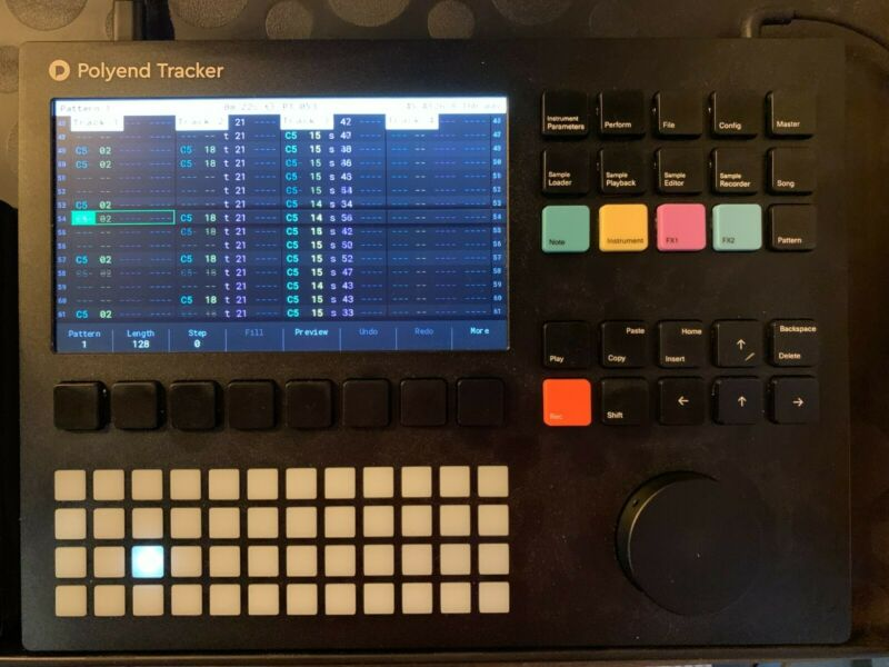 Polyend Tracker Tabletop Sampler, Wavetable, Synthesizer and Sequencer