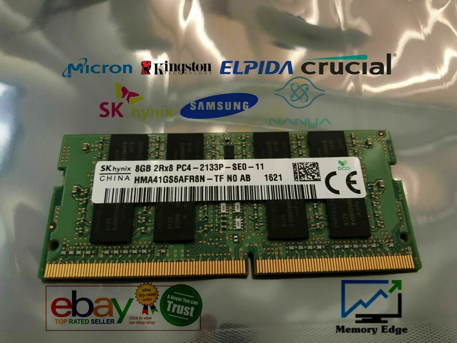 8GB RAM for Fujitsu LIFEBOOK S937/S, S938, SH90/W, T936