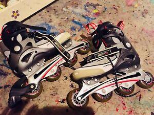 Xcs vortex rollerblades size 10/11